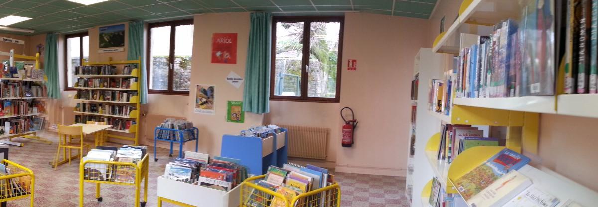 Bibliothèque de Mogneneins - Peyzieux-sur-Saône