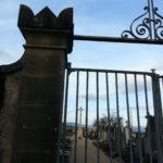 Visite du cimetière de Mogneneins