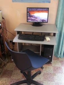 Espace d'accès à Internet de Mogneneins - Les ordinateurs à disposition des habitants