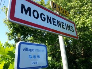Mogneneins, village numérique