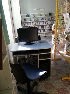 Le nouvel espace d'Accès à Internet de Mogneneins (rénovation été 2016)