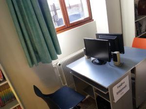 Espace d'accès à Internet de Mogneneins : 2 PC accessibles gratuitement aux habitant(e)s !