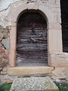 Porte de ferme (hameau de Flurieux)