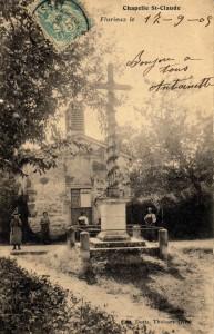 Chapelle St Claude au hameau de Flurieux