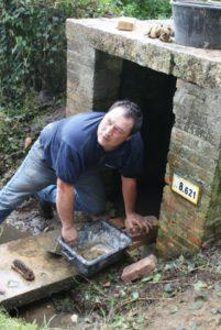 Restauration des fontaines par les élus et bénévoles du village