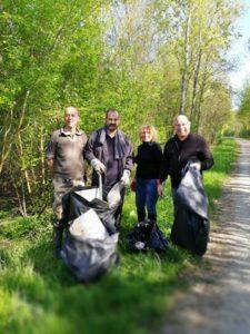 Collecte des déchets sauvages 2017 : des bénévoles en actions