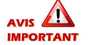 Information importante ! Coronavirus COVID 19
