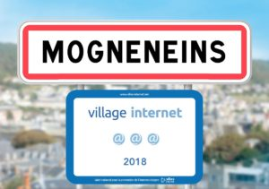 "Mogneneins labellisée ""Village internet"" @@@"