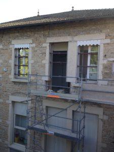 Les travaux d'accessibilité de la Mairie de Mogneneins - Septembre 2018
