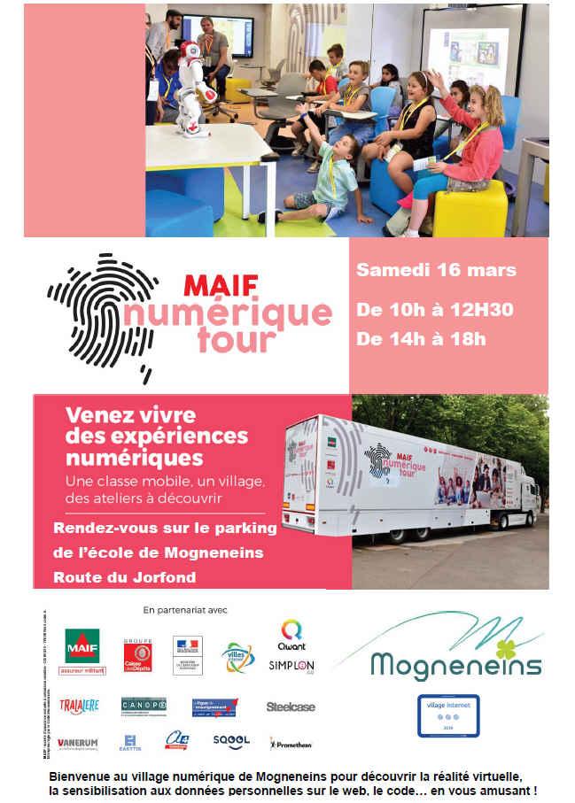 Bienvenue au Maif Numérique Tour à Mogneneins