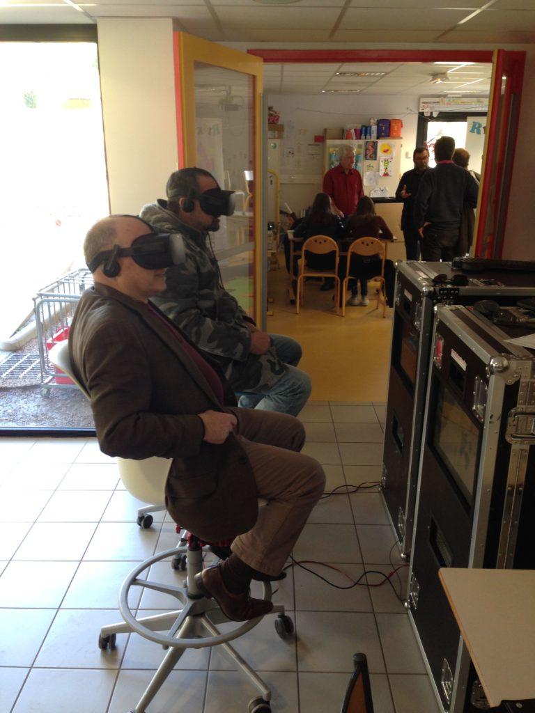 En route pour la réalité virtuelle !
