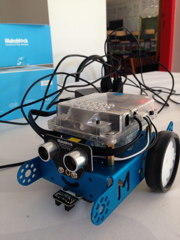 La robotique pédagogique à Mogneneins